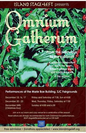 Holiday Show OMNIUM GATHERUM Opens Next Week at Island Stage Left