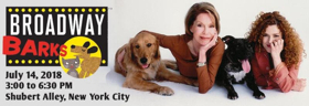 Stars From MEAN GIRLS, THE BAND'S VISIT, DEAR EVAN HANSEN, and to Turn Out Today for Broadway Barks!