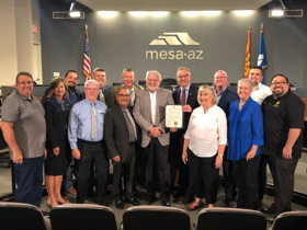 Mesa City Council Proclaims May 4 Sonoran Desert Chorale Day