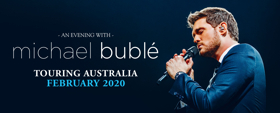 Michael Buble Will Embark On An Australian Tour In February 2020