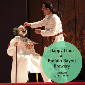 Houston Grand Opera Celebrates FIGARO At Buffalo Bayou Brewing Co. Happy Hour