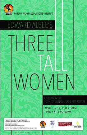 Twelfth Night Productions Presents Edward Albee's THREE TALL WOMEN