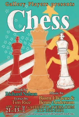 Rock Musical CHESS Set To Play Gallery Players