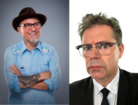 Bobcat Goldthwait & Dana Gould Kick Off THE SHOW WITH TWO HEADS 14 City Tour