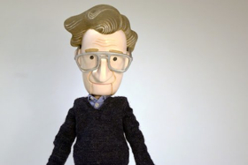 MIT Premieres Pedro Reyes' Puppet Play with Noam Chomsky, Karl Marx, Ayn Rand, Elon Musk, Tiny Trump