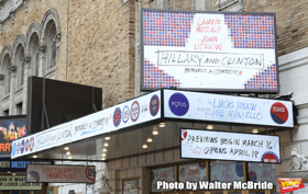 HILLARY AND CLINTON Begins Previews on Broadway Tonight