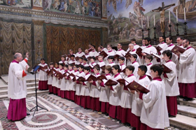 The Pope's Choir Holds First-Ever U.S. National Tour Opening Night At Atlanta's Fox Theatre