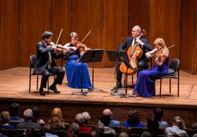 New York Philharmonic String Quartet to Perform at Quick Center this April