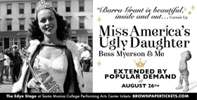 Review: Barra Grant Shares Personal Tales of Growing Up as MISS AMERICA'S UGLY DAUGHTER