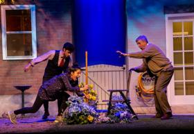 Eagle Theatre Opens NATIVE GARDENS