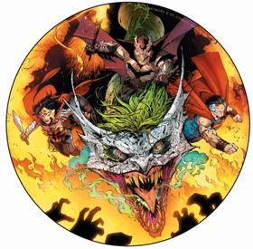 DC Comics' 'Dark Nights: Metal' To Be Released as Exclusive Vinyl Picture Disc