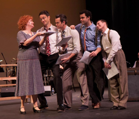 BWW Review: MINNIE'S BOYS Returns to the Stage Celebrating the Early Years of the Mischievous Marx Brothers