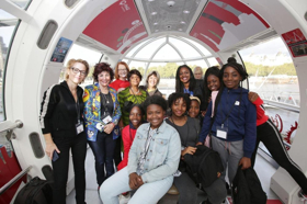 Southbank Centre Marks International Day Of The Girl 2018 With 300 Women Taking Over The Coca-Cola London Eye