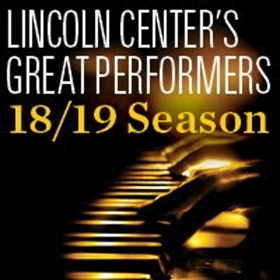 Lincoln Center Announces 2018/19 Great Performers Season
