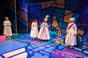 BWW Review: Heads Roll in Feminist French Revolution Comedy THE REVOLUTIONISTS, at Artists Rep