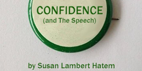 134 West  Presents A Benefit Reading Of A New Play:  CONFIDENCE (AND THE SPEECH)