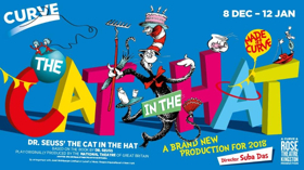 Casting & National Tour Announced For The Curve & Rose Theatre Kingston Production Of Dr. Seuss's THE CAT IN THE HAT