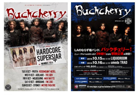 Buckcherry Announces Australia and Japan Tour Dates