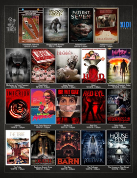 TERROR FILMS Partners with New Content Platform VIDI SPACE for October Horror Slate