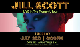 Diamond Life Concerts Presents JILL SCOTT 'LIVE In The Moment Tour' At Ovens Auditorium