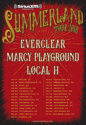 SiriusXM Reveals Dates & Lineup for 2018 SUMMERLAND Tour