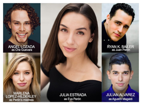 ACT of Connecticut Continues Season with EVITA Starring Julia Estrada