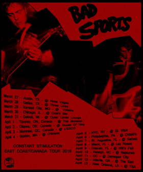 f94094998835 Bad Sports Announce Tour and New Video