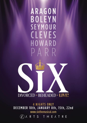 The Six Wives Of Henry VIII Sing Their Way Out Of The History Books And Into The Spotlight in SIX the Musical