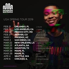 Mason Maynard Announces Debut Us Tour Dates