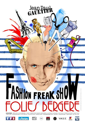 Jean Paul Gaultier Fuses Fashion and Theater Together in FASHION FREAK SHOW