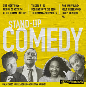 The Drama Factory Presents 'Stand-Up Comedy At The Drama Factory'