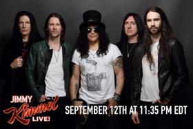 Watch Slash Ft. Myles Kennedy & The Conspirators On Jimmy Kimmel Live! Tomorrow