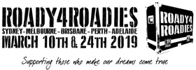Roady4Roadies Venues And Artists Confirmed