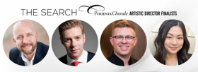 Phoenix Chorale Announces Finalists for Artistic Director Search