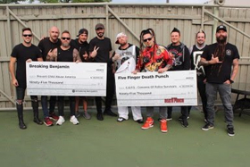 Five Finger Death Punch and Breaking Benjamin Donate $190,000 From Tour To Charity
