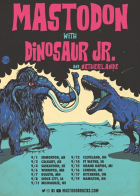 Mastodon Join Forces With Dinosaur Jr. For North American Tour Dates