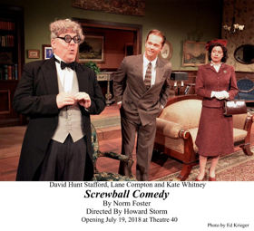 Review: U.S. Premiere of Norm Foster's SCREWBALL COMEDY Generates Laughs at Theatre 40