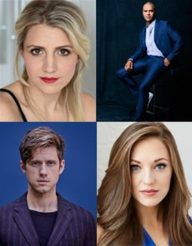 Annaleigh Ashford, Christopher Jackson, Laura Osnes and Aaron Tveit Headline New York Philharmonic's 2017 Holiday Season