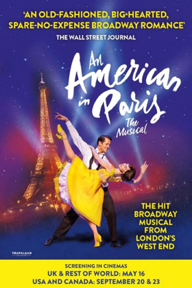 London's AN AMERICAN IN PARIS Will Open Theatrically Throughout the U.S. This September