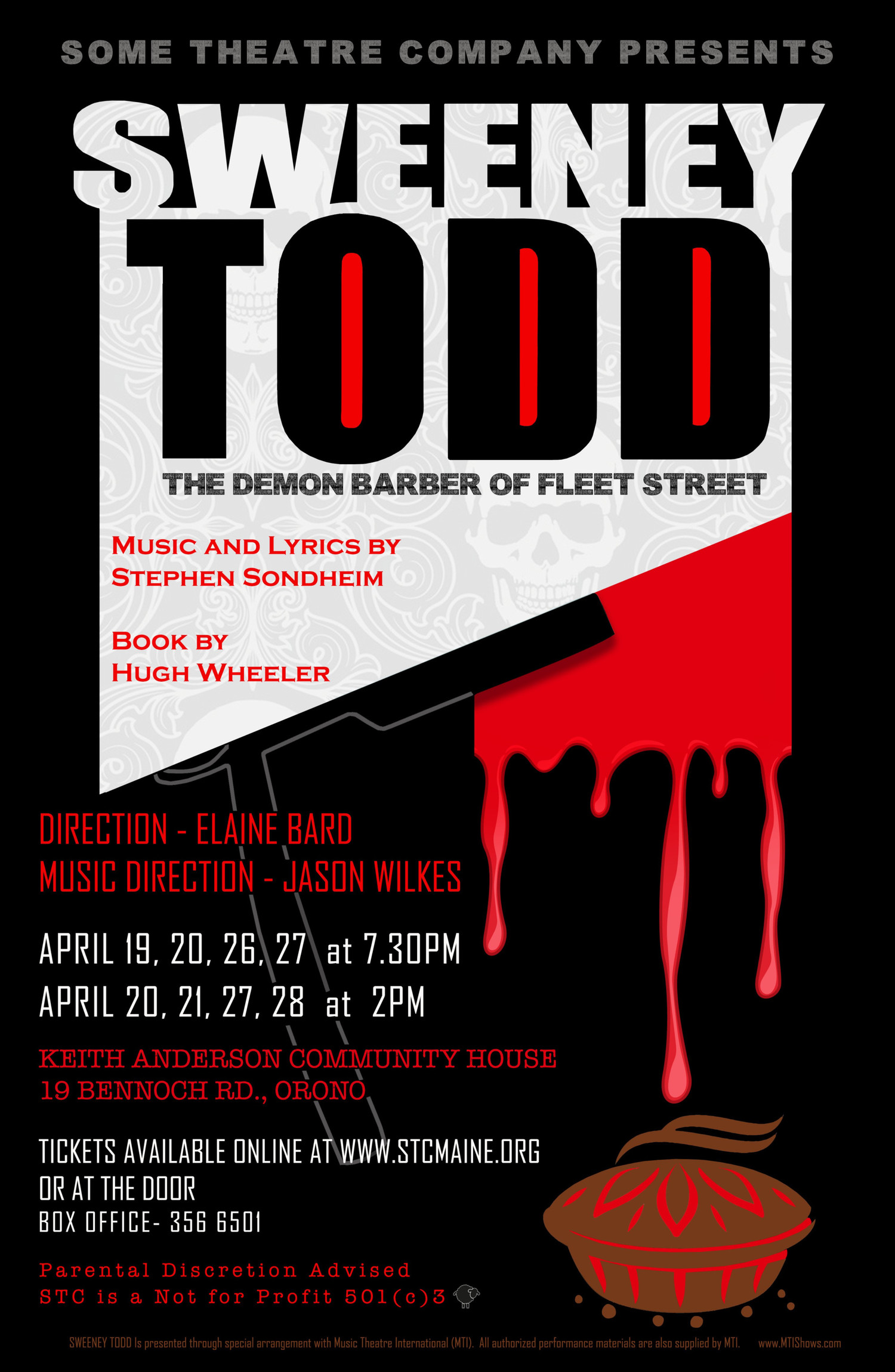 BWW Feature: SWEENEY TODD TICKETS GO ON SALE! at Some Theatre Company