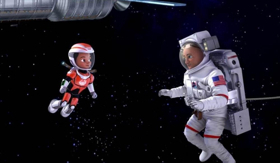 Disney Junior Marks the First Kids Television Premiere in Space With Screenings on the International Space Station