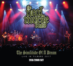 The Neal Morse Band To Release THE SIMILITUDE OF A DREAM Live in Tilburg, Netherlands 2017 2CD/2DVD Set