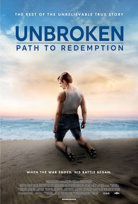 The Rest Of Louie Zamperini's Story Told In UNBROKEN: PATH TO REDEMPTION, In Theaters 10/5