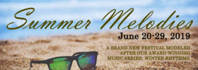 Urban Stages to Present SUMMER MELODIES 2019
