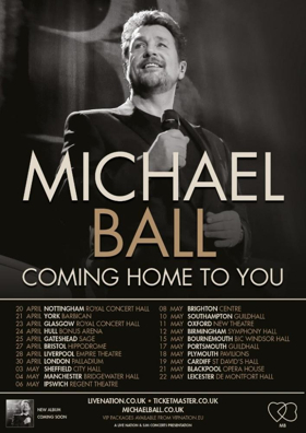 Michael Ball Announces 2019 UK Tour and New Album