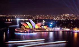 Vivid Sydney Lights Up for 10th Anniversary Celebration