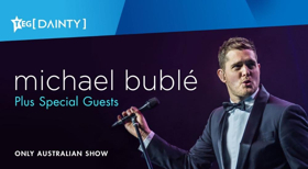Guy Sebastian And Busby Marou Announced As Special Guests For Michael Bublé's One-off Closing Show Celebration Of Sydney's Allianz Stadium