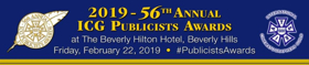 56th Annual ICG Publicists Awards Luncheon is Set for This February