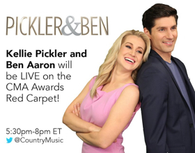 THE CMA AWARDS: ALL ACCESS to Be Hosted by Kellie Pickler and Ben Aaron