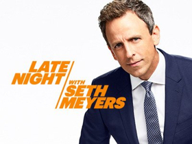 Scoop: Upcoming Guests on LATE NIGHT WITH SETH MEYERS on NBC, 12/5-12/12